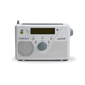 ROBERT RADIO SOLAR DAB 2 - WHITE DAB+ FM