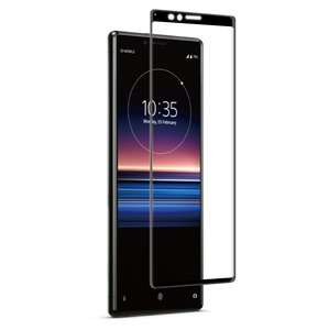VERRE TREMPE INCURVE+ APPLICATEUR: SONY XPERIA 1
