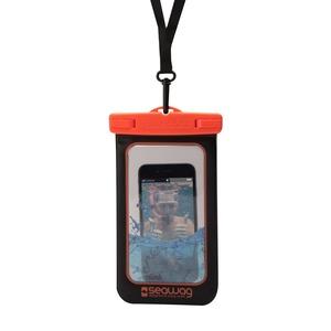 POCHETTE ETANCHE POUR SMARTPHONE 5.7' - NOIR ET ORANGE