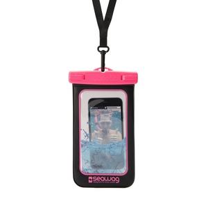 POCHETTE ETANCHE POUR SMARTPHONE 5.7' - NOIR ET ROSE