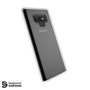 DESIGNED FOR SAMSUNG PRESIDIO TRANSPARENT STAY CLEAR POUR NOTE 9