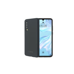 COQUE SMOOTHIE NOIRE: HUAWEI P30