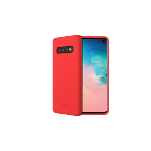 COQUE SMOOTHIE ROUGE: SAMSUNG GALAXY S10