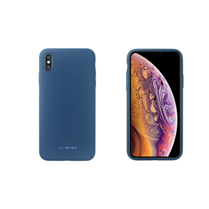 COQUE SMOOTHIE MARINE: APPLE IPHONE XS MAX