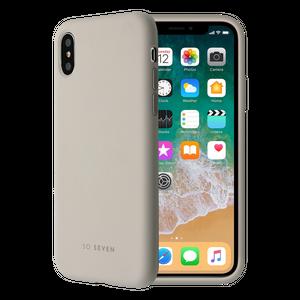 COQUE SMOOTHIE STONE GREY: APPLE IPHONE X/XS