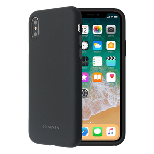 COQUE SMOOTHIE NOIR: APPLE IPHONE X/XS