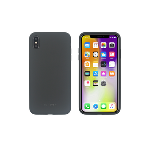 COQUE SMOOTHIE GRIS FONCE: APPLE IPHONE XS MAX