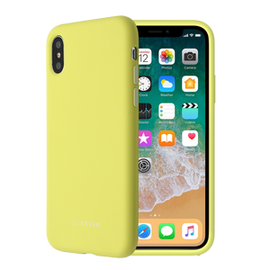 COQUE SMOOTHIE JAUNE: APPLE IPHONE X/XS