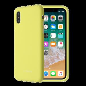 SMOOTHIE JAUNE POUR APPLE IPHONE X/XS