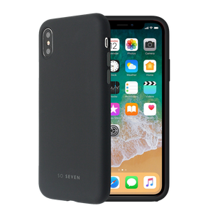 COQUE SMOOTHIE NOIR: APPLE IPHONE 7/8