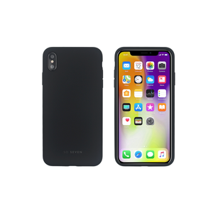COQUE SMOOTHIE NOIR: APPLE IPHONE XS MAX