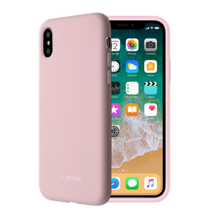 COQUE SMOOTHIE ROSE POUDRE: APPLE IPHONE 7/8