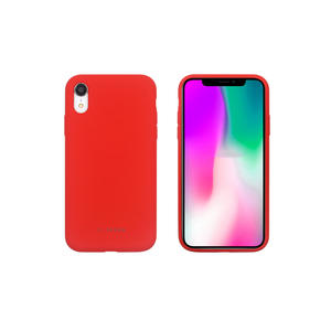 COQUE SMOOTHIE ROUGE: APPLE IPHONE XR