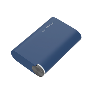 COLOR BATTERIE DE SECOURS PREMIUM METAL SILVER 5400MAH BLEU