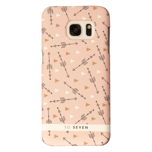 COQUE BOHO FLECHES ROSE: SAMSUNG GALAXY S7