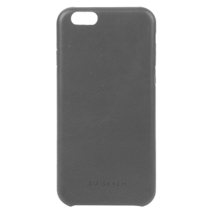 COQUE BOLD PU BIMATIERE GRIS: APPLE IPHONE 6+/6S+/7+/8+