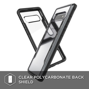 DEFENSE SHIELD FOR SAMSUNG GALAXY S10 PLUS - NOIR
