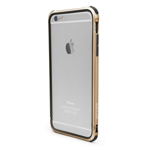 BUMPER DEFENSE GEAR DORE POUR APPLE IPHONE 6+/6S+