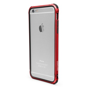 BUMPER DEFENSE GEAR ROUGE POUR APPLE IPHONE 6+/6S+