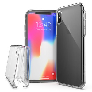 COQUE DEFENSE 360X FOR IPHONE X - CLEAR