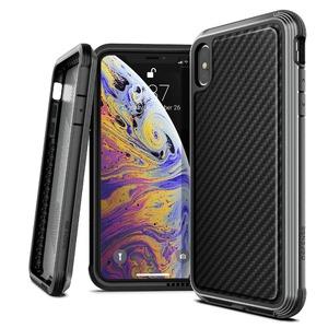 COQUE DEFENSE LUX FOR IPHONE Xs Max - BLACK CARBON FIBER
