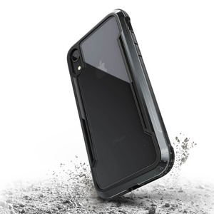 COQUE DEFENSE SHIELD NOIR POUR IPHONE Xr