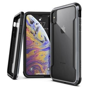 COQUE DEFENSE SHIELD NOIR POUR IPHONE Xs Max
