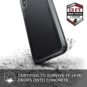 COQUE DEFENSE ULTRA FOR IPHONE Xs Max - BLACK