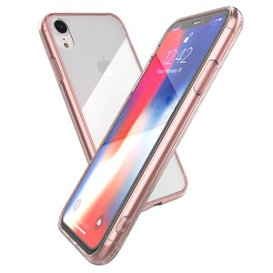 COQUE GLASS PLUS FOR IPHONE Xr - PINK