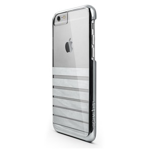 COQUE ENGAGE PLUS CHROME ARGENT APPLE IPHONE 6/6S