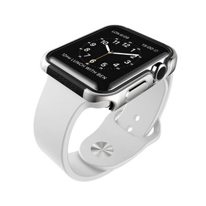 DEFENSE EDGE ARGENT 38MM POUR APPLE WATCH 1 2 3