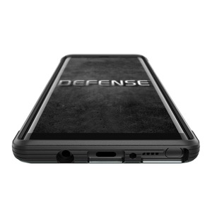 Defense Lux for Galaxy Note 8 - Black Leather