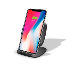 STAND INDUCTION QI FAST CHARGE 10W NOIR