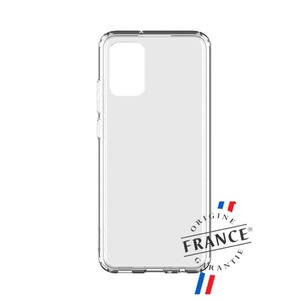 MUVIT FOR FRANCE COQUE CRYSTAL SOFT RENFORCEE : SAMSUNG GALAXY A02S
