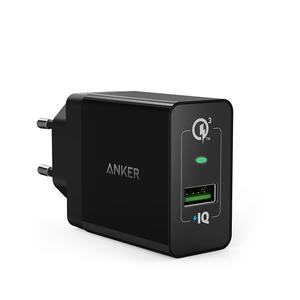CHARGEUR POWERPORT+ 1 USB-A QC3.0 18W NOIR