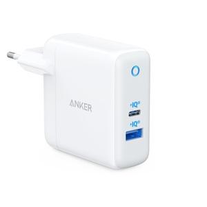 CHARGEUR POWERPORT ATOMIII USB-C45W + USB-A15W BLANC