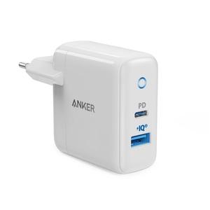CHARGEUR POWERPORT PD USB-C18W + USB-A15W BLANC