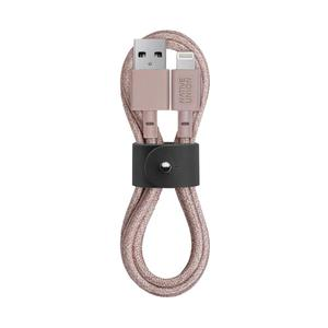 NATIVE UNION BELT CABLE LIGHTNING 1.2M ROSE