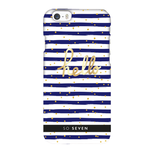 COQUE BORD DE MER BLEU APPLE IPHONE 6/6S