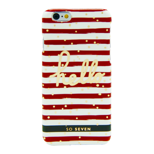 COQUE BORD DE MER ROUGE: APPLE IPHONE 6/6S/7/8