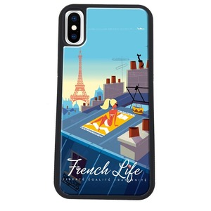 COQUE FRENCH LIFE: APPLE IPHONE X/XS