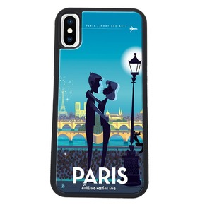 COQUE PARIS LOVE: APPLE IPHONE X/XS