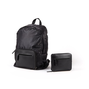 PACKABLE BACKPACK NOIR