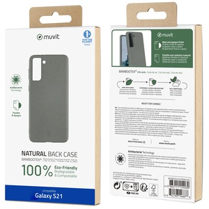 MUVIT FOR CHANGE COQUE BAMBOOTEK PEBBLE SAMSUNG GALAXY S21