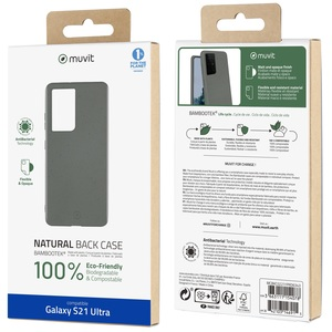 MUVIT FOR CHANGE COQUE BAMBOOTEK PEBBLE SAMSUNG GALAXY S21 ULTRA