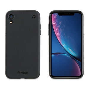 MUVIT FOR CHANGE COQUE RECYCLETEK NOIRE: APPLE IPHONE XR