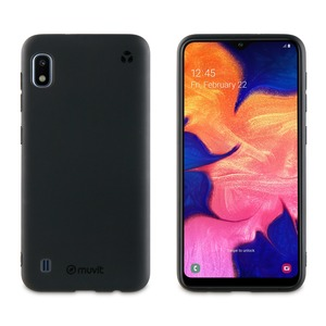 MUVIT FOR CHANGE COQUE RECYCLETEK NOIRE: SAMSUNG GALAXY A10