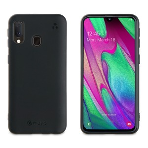 MUVIT FOR CHANGE COQUE RECYCLETEK NOIRE: SAMSUNG GALAXY A40
