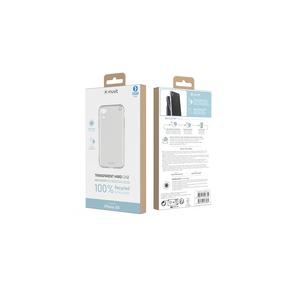 MUVIT FOR CHANGE COQUE RECYCLETEK TRANSPARENTE RIGIDE : IPHONE XR