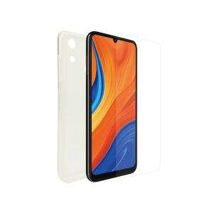 MUVIT FOR CHANGE RECYCLETEK SOFT CASE+ VERRE TREMPE: HUAWEI Y6S